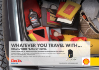 Helix campaign for Shell, by Greenwich Design