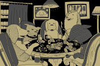 Kid Acne, Poker Dogs