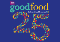 BBC Good Food 25th birthday graphic
