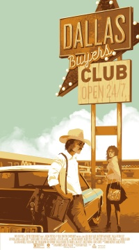 Matt Taylor, Mondo film poster design for Dallas Buyer's Club