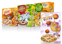Tesco cereals.