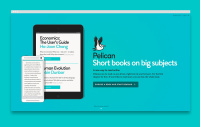 Pelican Books site designed by Fiasco Design