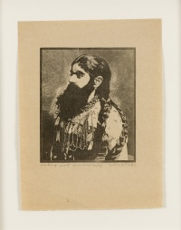 Bearded Lady from 1974-78 Side Show collection by Peter Blake