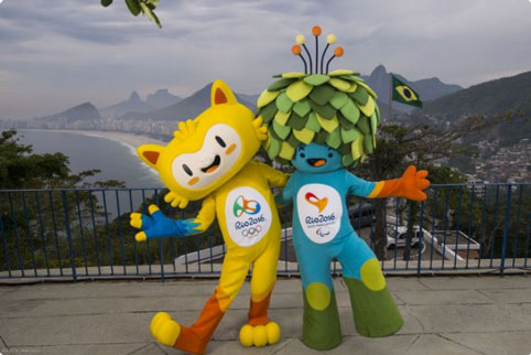 The Rio 2016 Olympic and Paralympic Games mascots