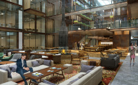Battersea Power Station Atrium design by Rockwell Group
