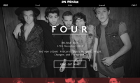 One Direction Studio Output new website Syco