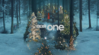 BBC One Christmas ident by Red Bee