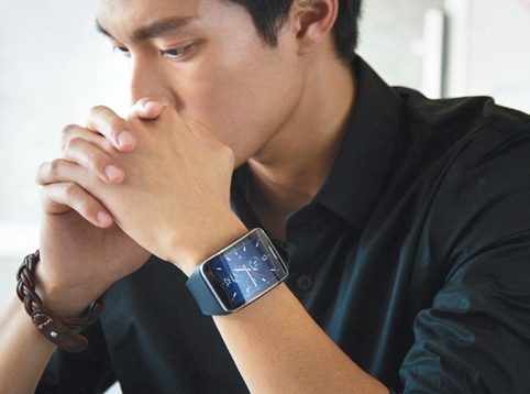Samsung's recently released Samsung Gear S watch
