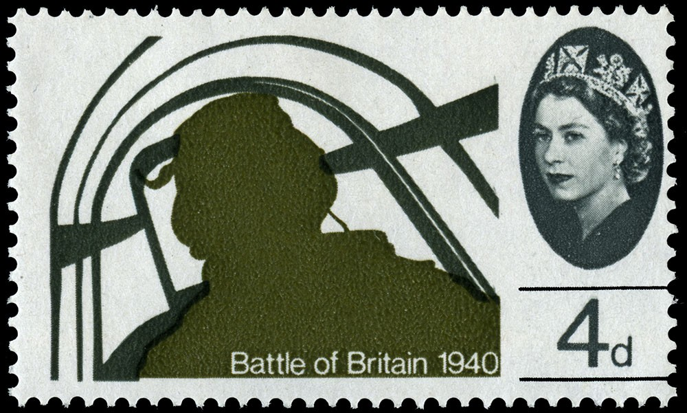 Special Stamps 50th anniversary Royal Mail Battle of Britain 4