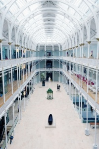 National Museum of Scotland, interactive, design, contract
