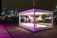 All this year's shortlisted Design Ventura products are on show in the Design Museum tank