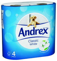 Andrex rebrand by Sterling Brands