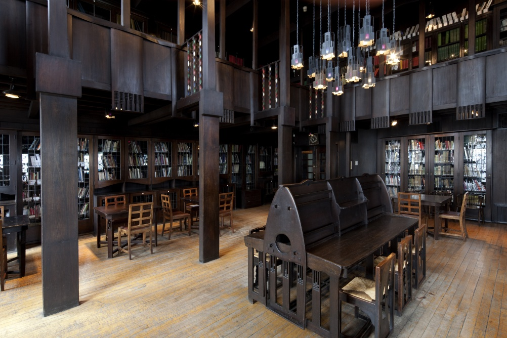 Mackintosh Library - GSA9a©McAteer