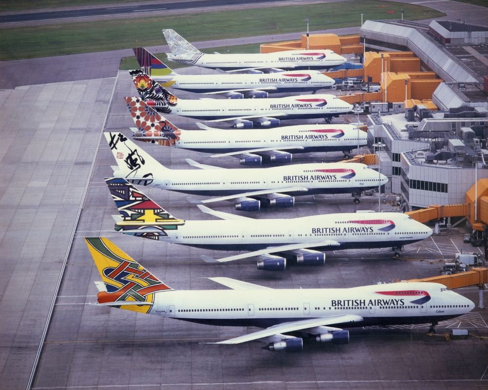 "The story of the short-lived British Airways ""World Images"" livery"