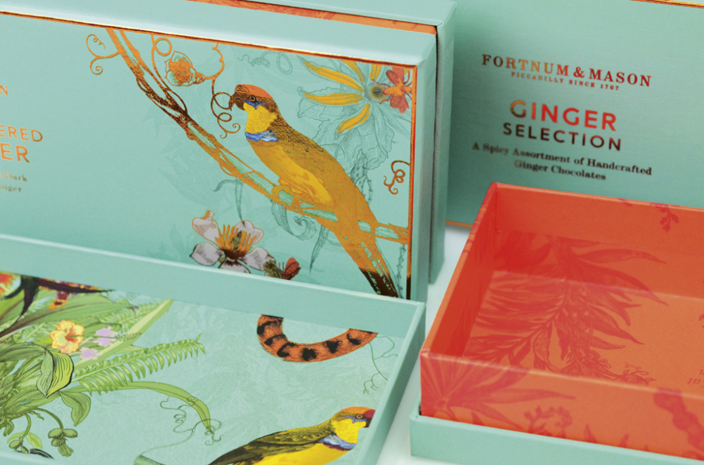 Design Bridge's Fortnum & Mason packaging picked up a Bronze award