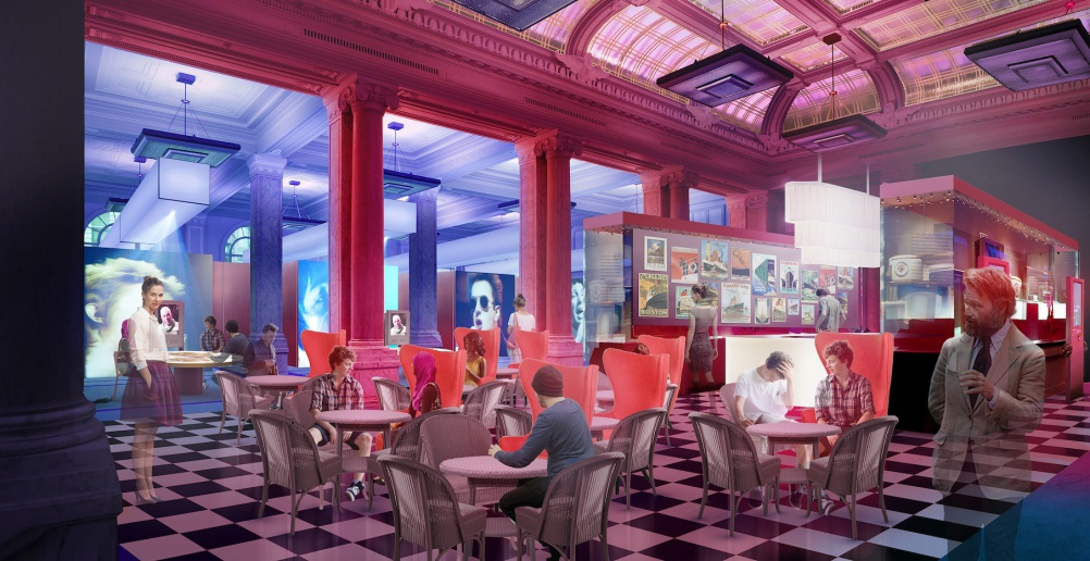 Visualisation of new BME museum by BME in-house design team