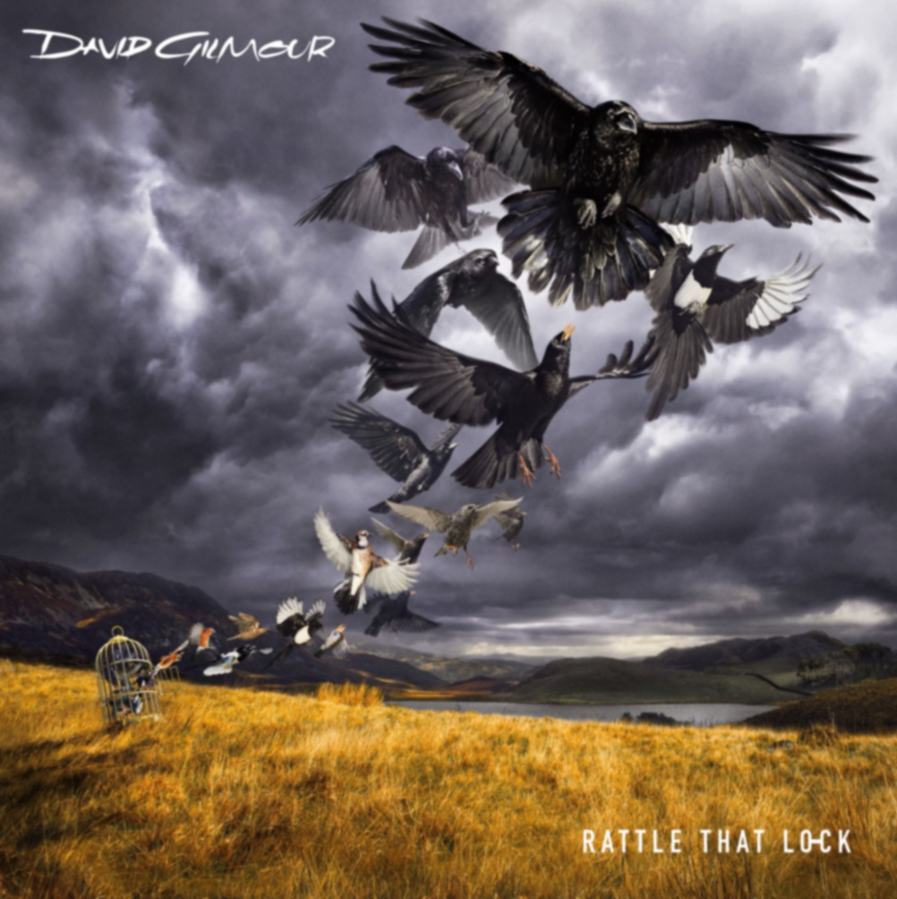 Dave Gilmour – Rattle That Lock. Cover Design Dave Stansbie for Creative Corporation, Original landscape photography by Rupert Truman/Storm Studios